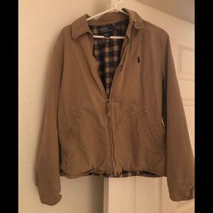 Polo Ralph Lauren khaki jacket excellent condition